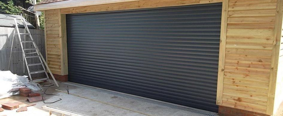 garage door rollersGraphite grey roller garage door  Gorgeous Garage  Barn Doors