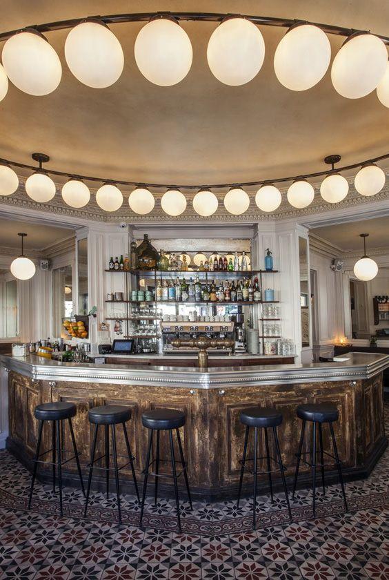Michael malapert interior design restaurant la marine paris