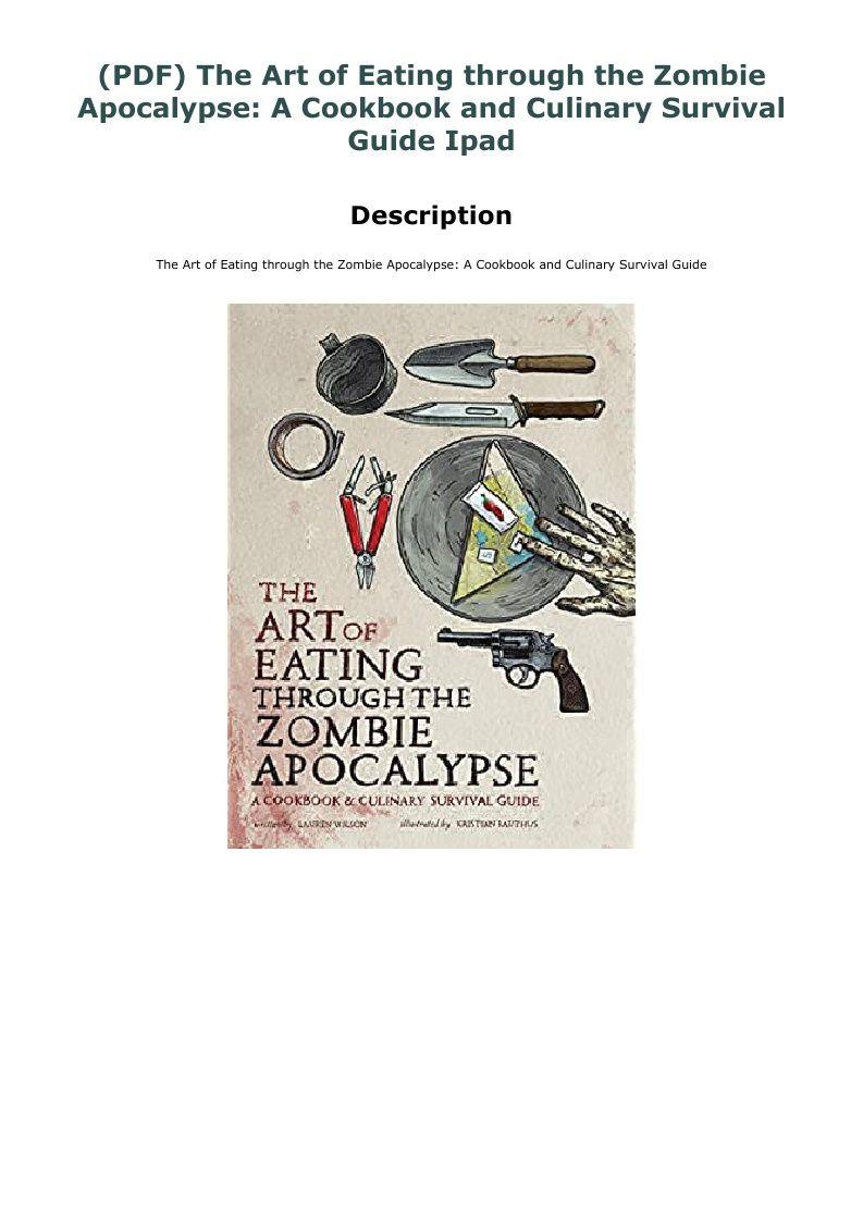 (PDF) The Art of Eating through the Zombie Apocalypse A