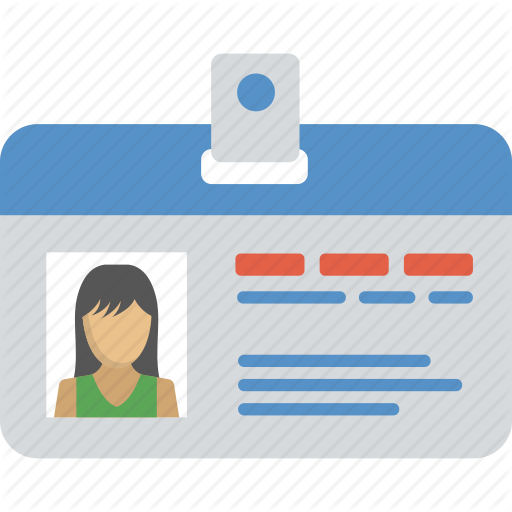 Employee Card Identity Identity Card Work Card Icon Download On Iconfinder Employees Card Cards Identity