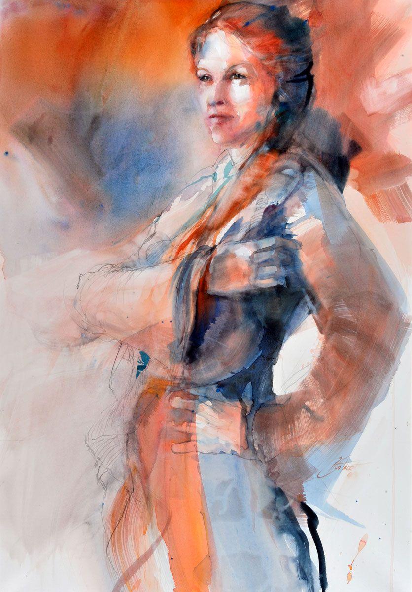 Portrait : étude