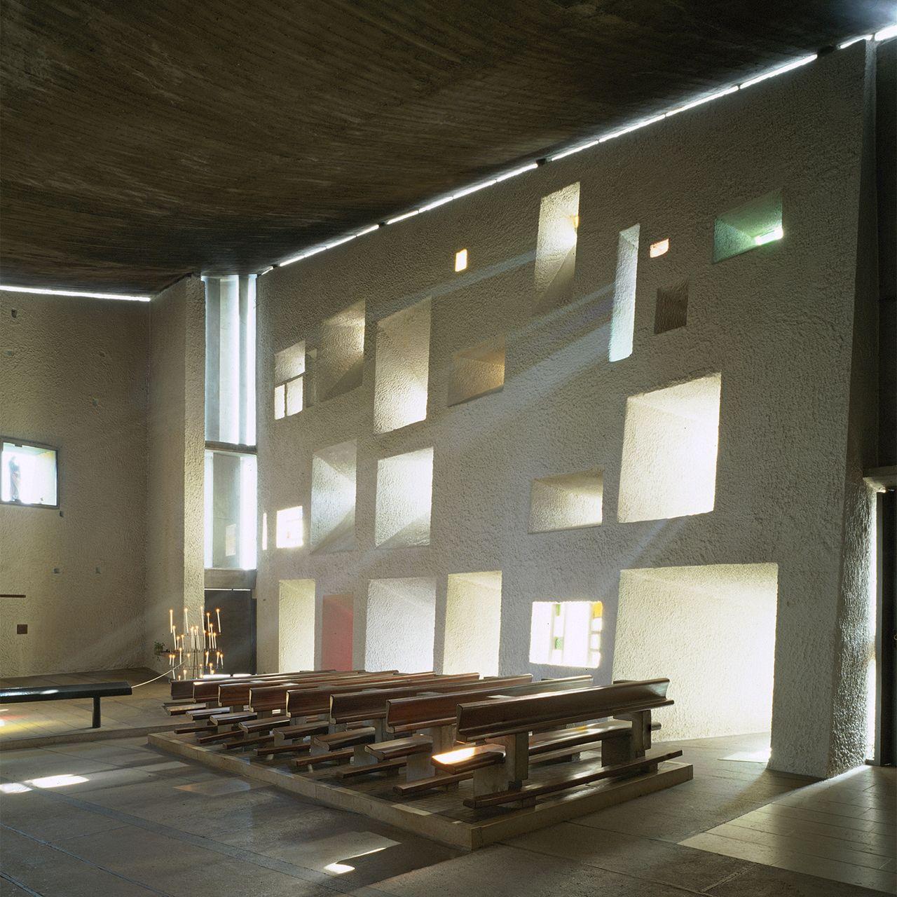 Le Corbusier Notre Dame Du Haut Ronchamp France 1950