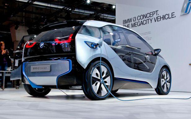 Kenevir Araba Hemp Car Bmw I3 Bmw I3 Electric Bmw I