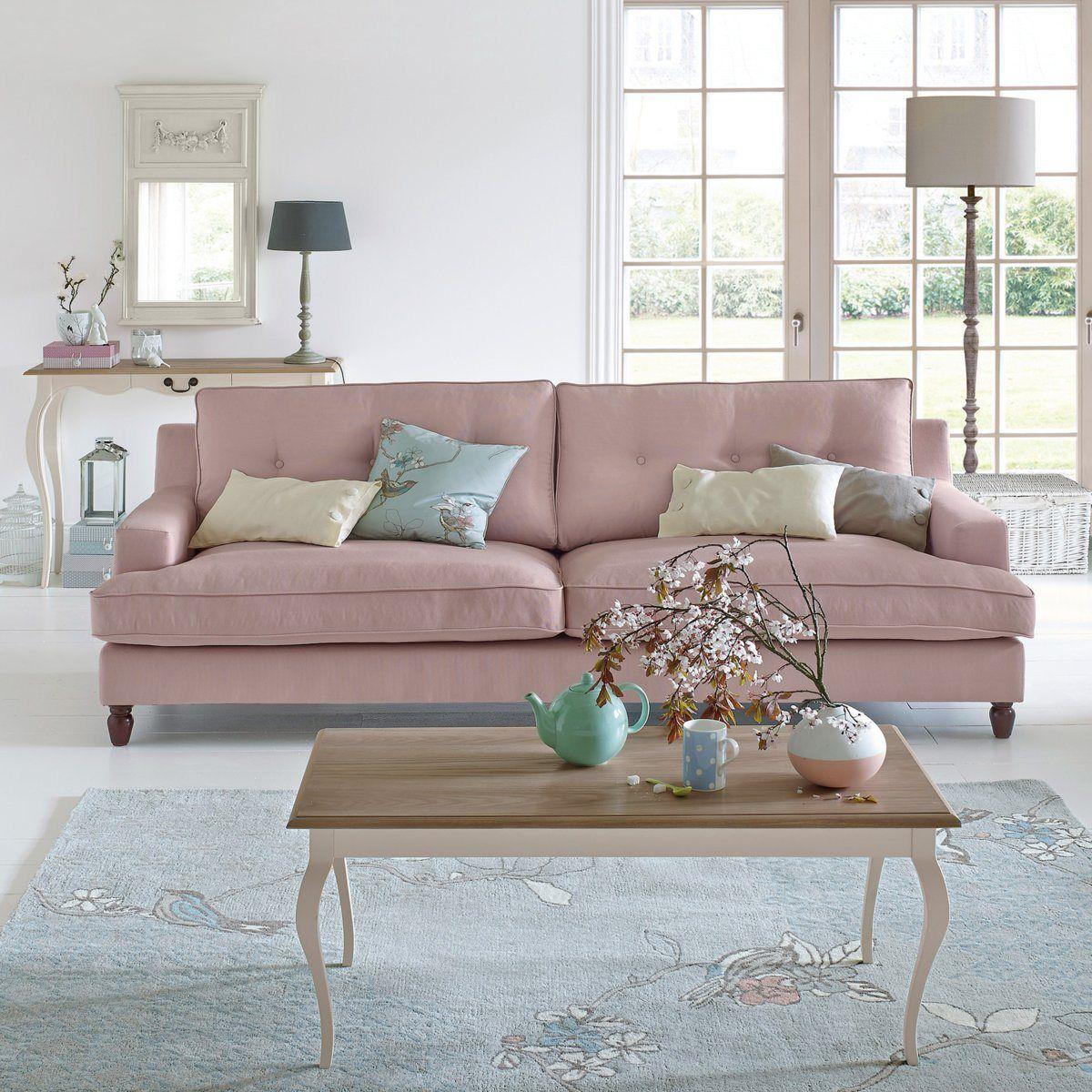 canap 2 ou 3 places fixe coton rina la redoute interieurs prix promo canap la redoute. Black Bedroom Furniture Sets. Home Design Ideas