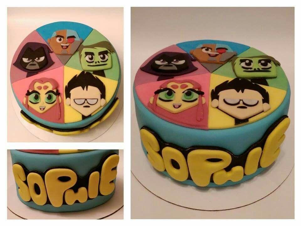 Beast Boy Birthday Cake
