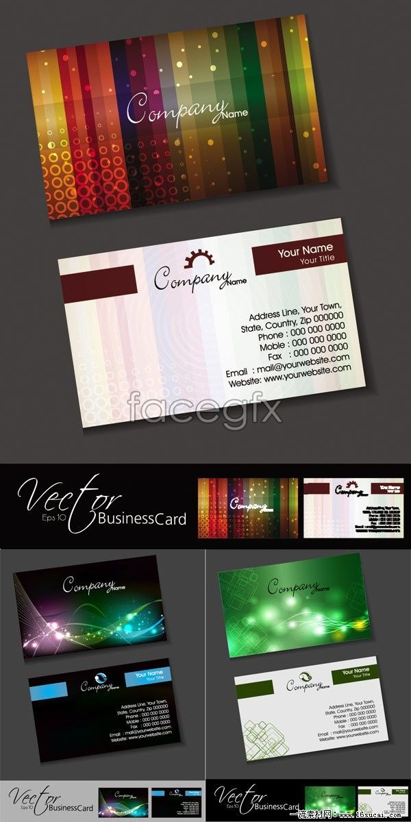 3 mobile technology business card template vector graphic design 3 mobile technology business card template vector fbccfo