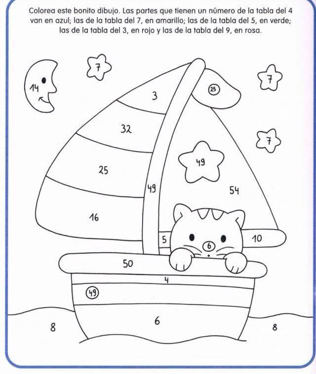 Cuaderno tablas de multiplicar (31) | School | Pinterest | Tablas de ...