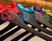 Personalized Wedding Hanger  Belle's on the Bayou  bellesonthebayou.facebook.com