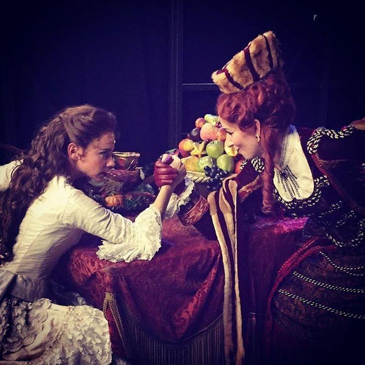 Christine VS Carlotta: the big battle! (from Annemarijn Maandag's Instagram, 7 August 2016)