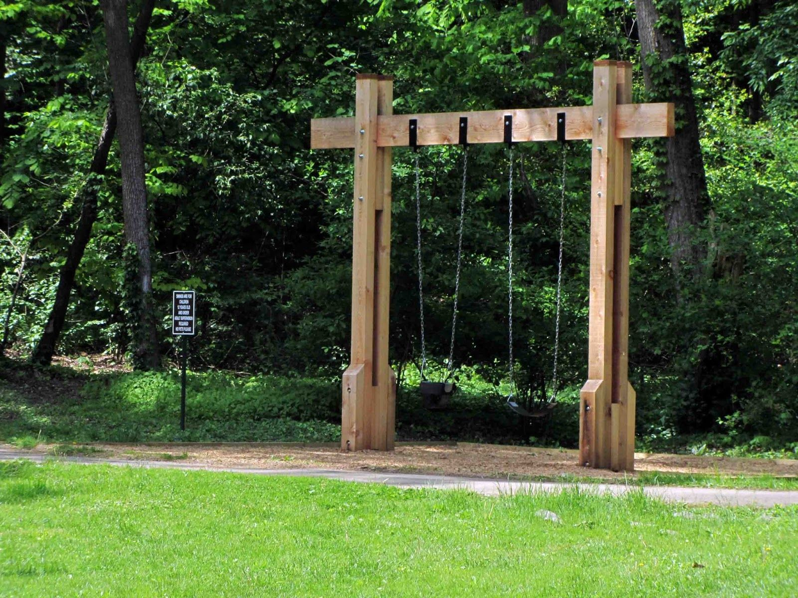 interesting backyard designs looks cool with swing sets