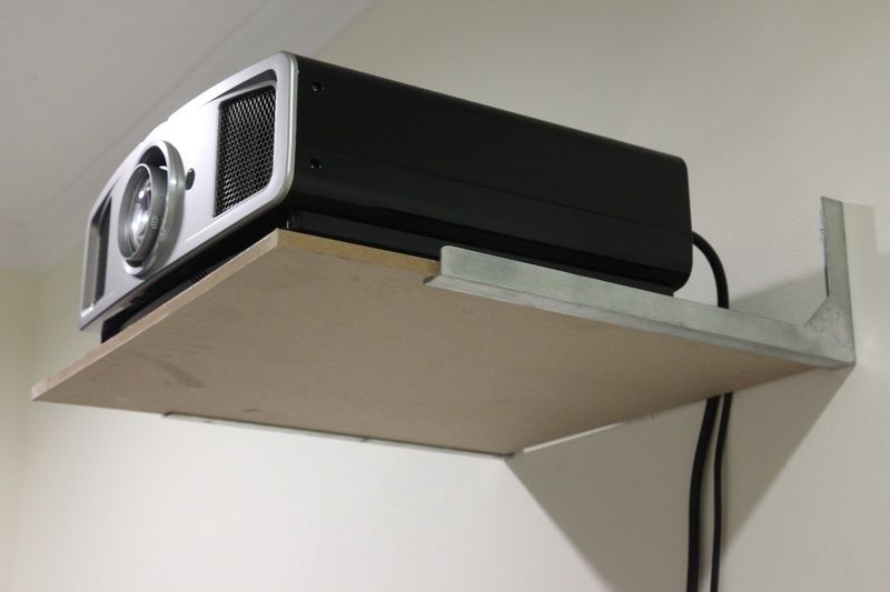 Diy Projector Shelf Google Search Idee