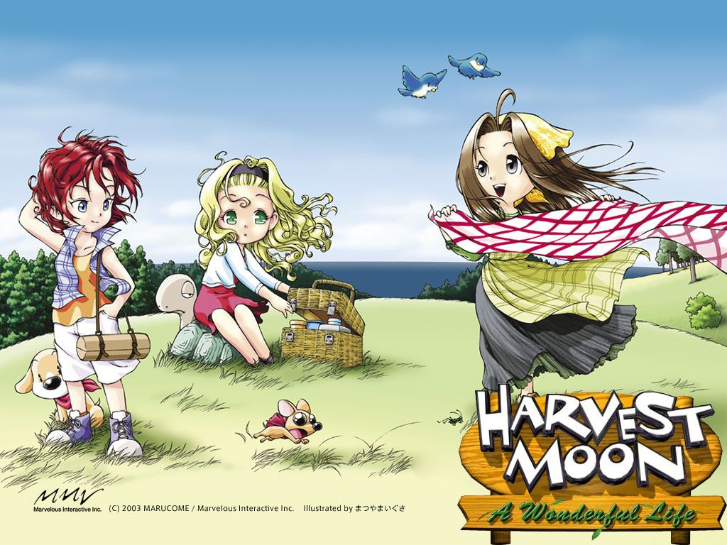 Wallpaper Mightve Posted This Harvest Moon Game Harvest Moon