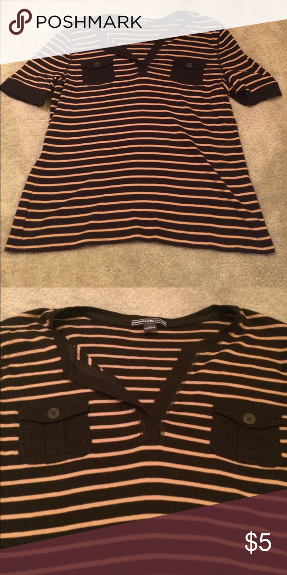 $3 American living XL shirt $3 each on 5 or more! (More then 20 needs to be split in orders for shipping) Bundle and save! Have a ton of Name brand: Victoria's Secret, American Eagle, Hollister, Aeropostale, Maurice's, Abercrombie& Fitch, Nike, adidas, Charlotte Russe, rue 21, forever 21, justice, New York & company, wet seal, vanity, alfani and some others! #6 American Living Tops