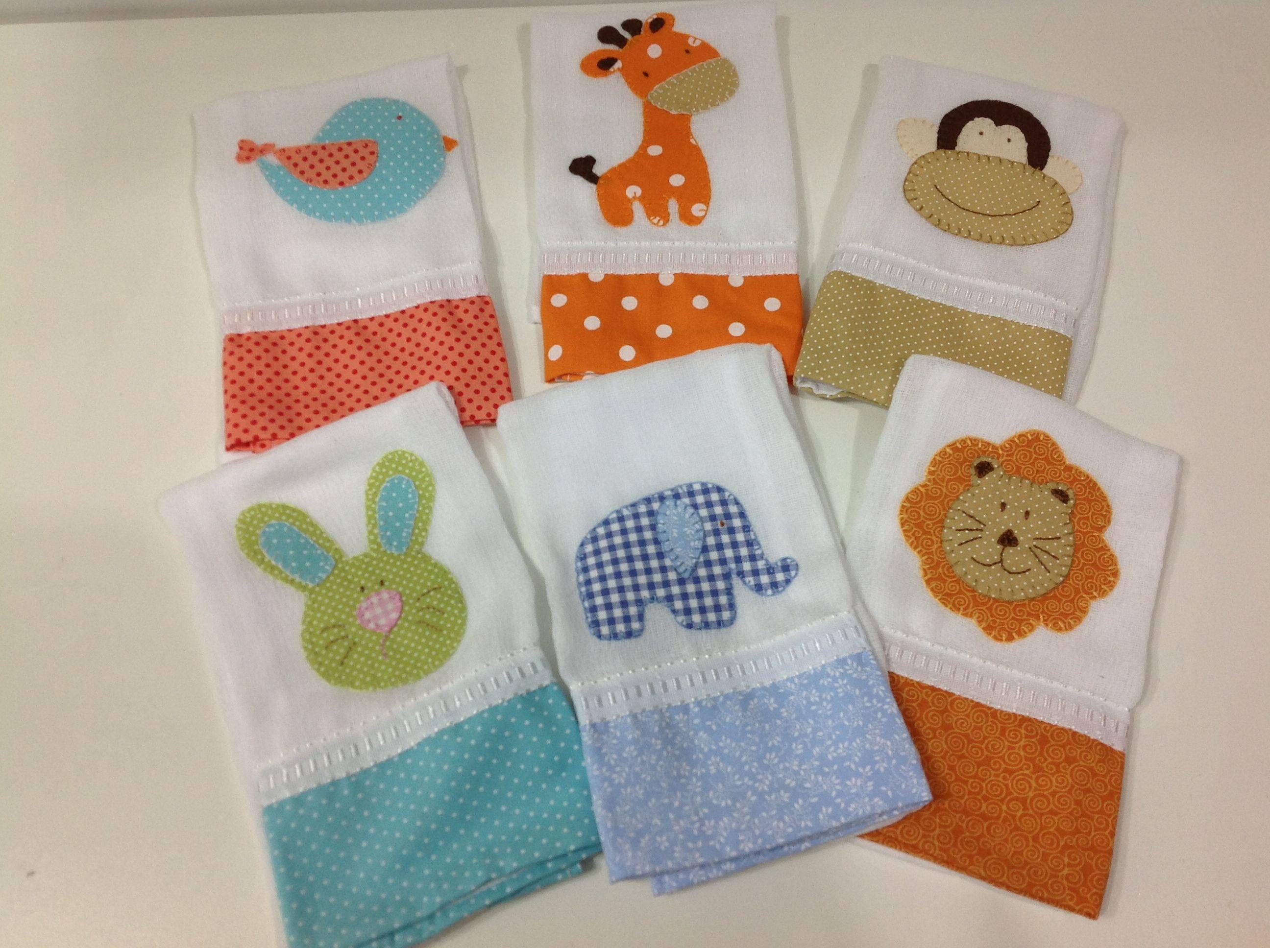 Fraldas de boca | Baby | Pinterest | Applikationen, Nähen und Ideen