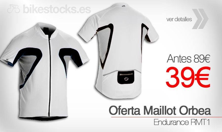 Super - Oferta en Maillot Orbea Endurance RMT1  #bikestocks #bikes #orbea #maillot #ciclismo