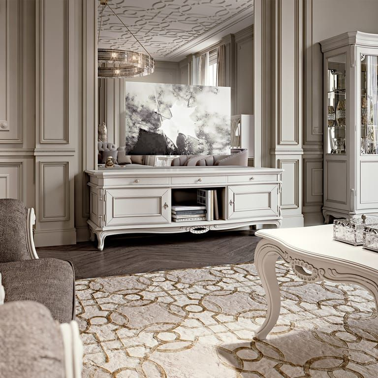 Luxurious Italian Designer Tv Sideboard In 2020 Luxury Furniture