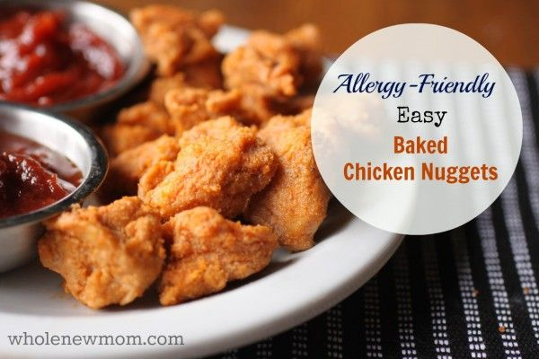 Easy Baked Gluten Free Chicken Nuggets Recipe S Main Dishes