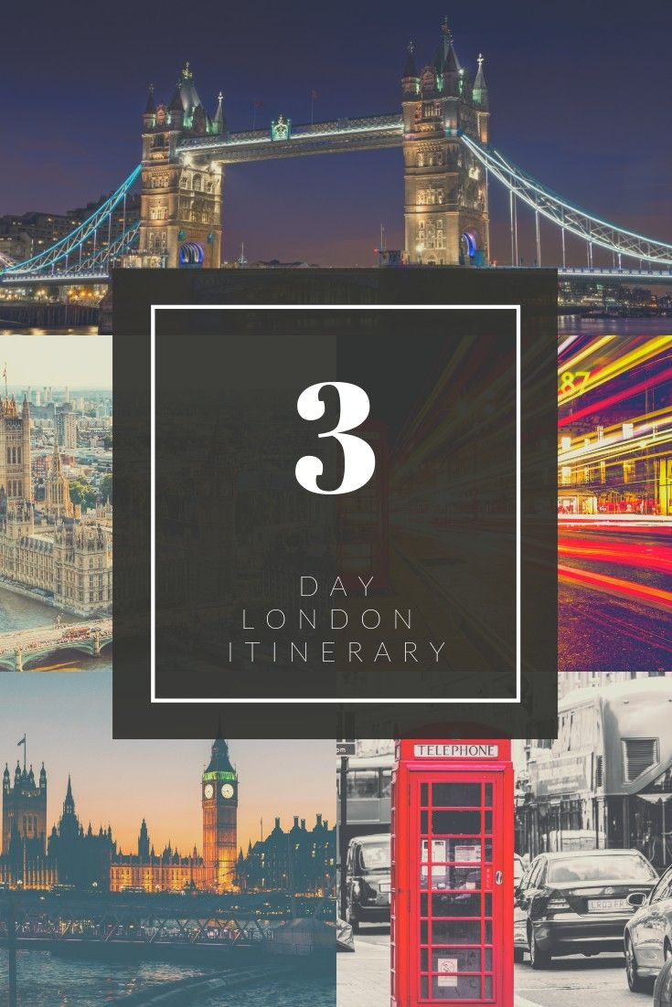 3 Days in London - The Perfect 72 Hour London Itinerary