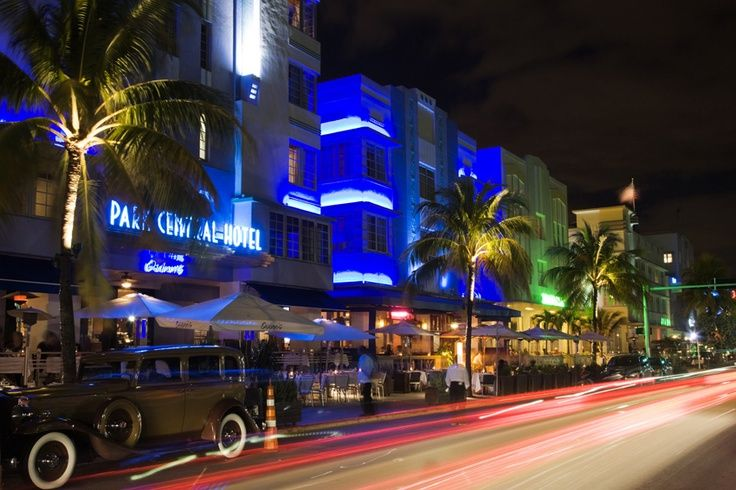 Ocean Drive Miami South Beach Nightlife