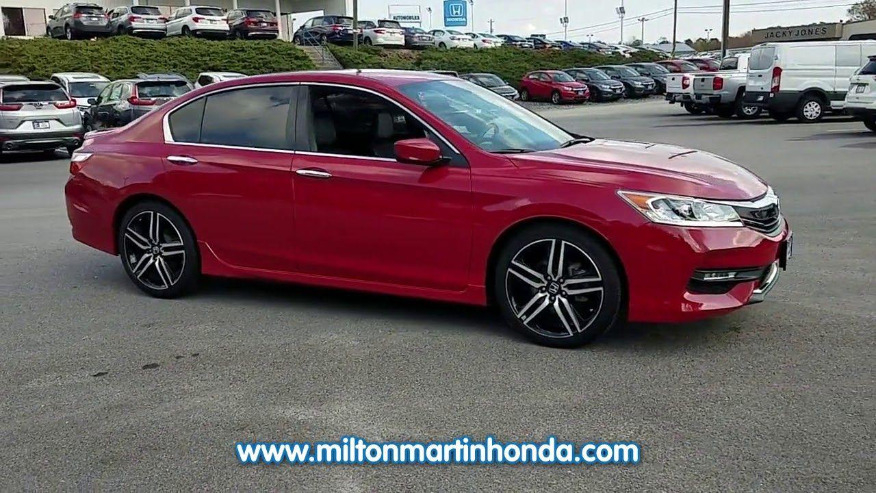 USED 2016 Honda ACCORD 4DR I4 CVT SPORT at Milton Martin
