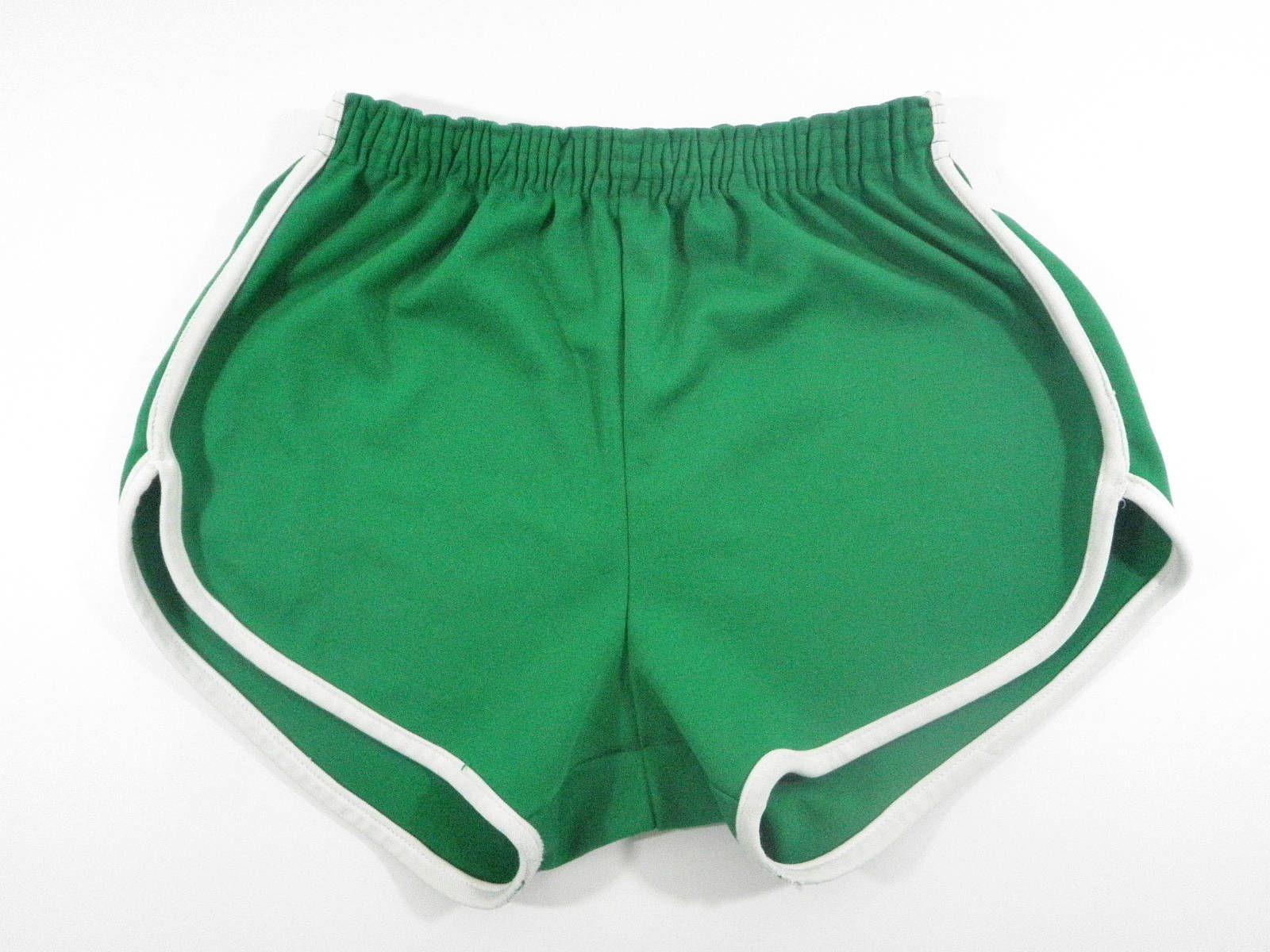 039884dcef Vintage Soffe Green White Piping Polyester Gym Shorts Adult Large Coach  Athletic by TraSheeWomen on Etsy #vintage #mensshorts #coachshorts  #shortshorts ...