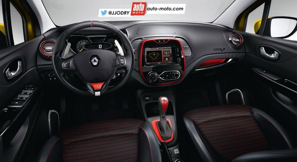 2016 Renault Captur R S Likely To Pack 200 Hp Rendering New