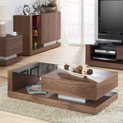 Jual Cube Coffee Table With Concealed Drawer Wayfair Uk Tv