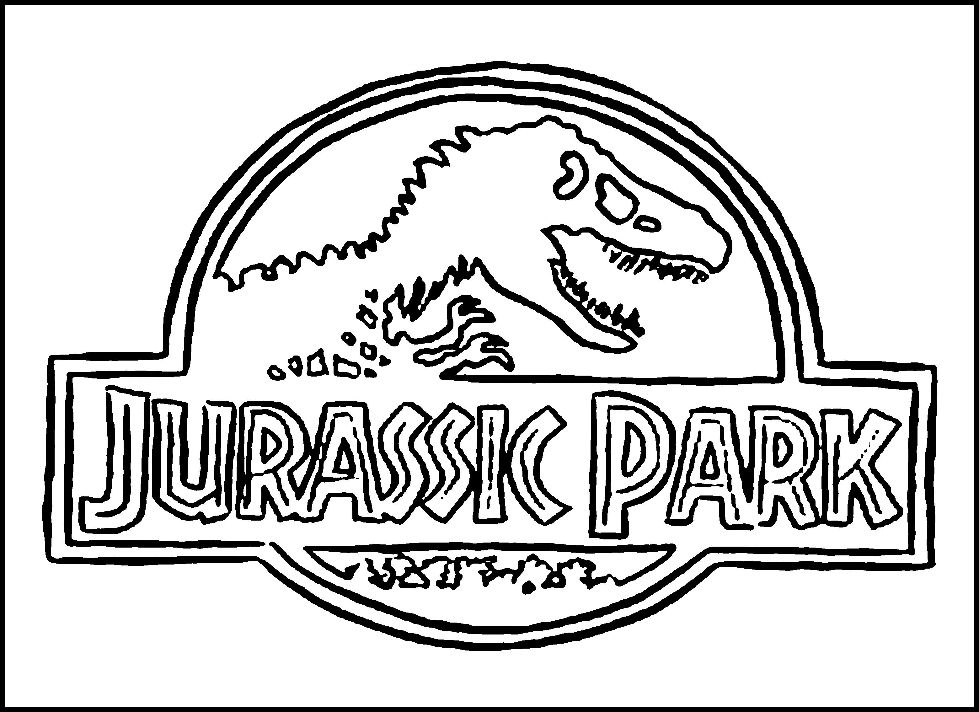 Ausmalbilder Jurassic World, Dinosaurier, Indominus Rex ...