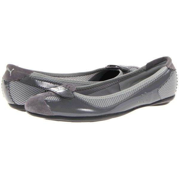 PUMA Zandy Patent Wn's (Steel Gray/Limestone Gray/Silver) Women's.