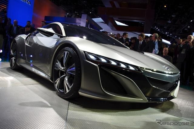 New honda NSX. so cool!!