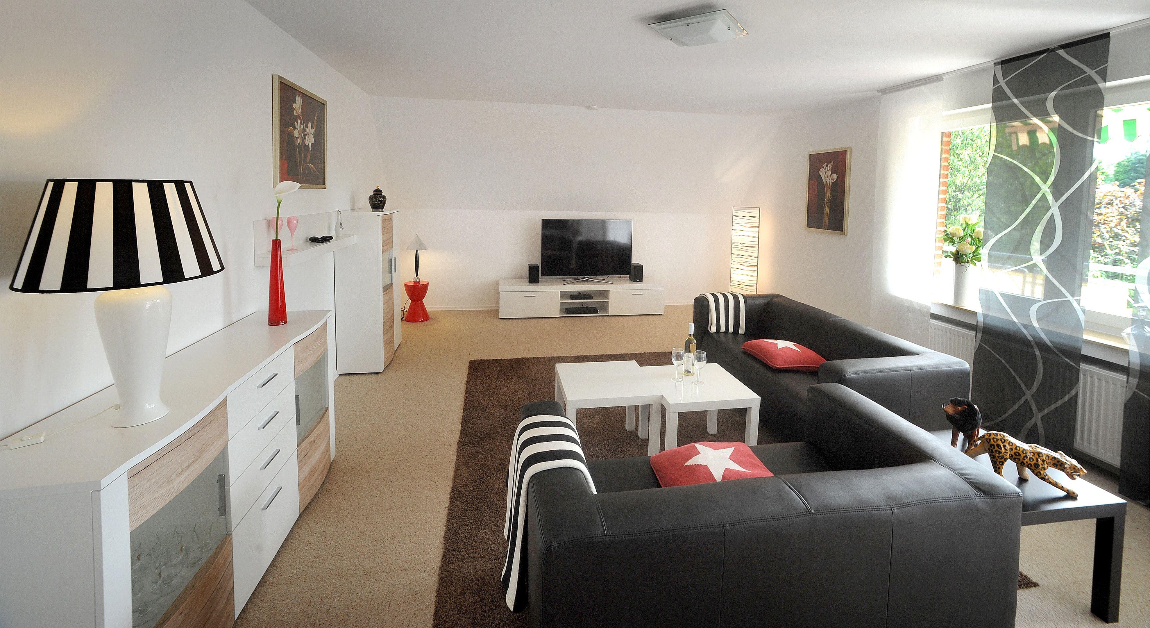 deko ideen großes wohnzimmer | living room design colour