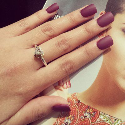 Image Result For Short Burgundy Acrylic Nails Burgundy Acrylic Nails Burgundy Matte Nails Burgundy Nails