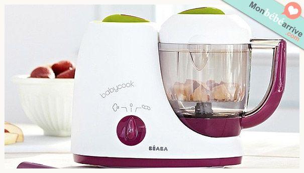 Le cuiseur vapeur / mixeur de Béaba : le Babycook http://www.monbebearrive.com/le-cuiseur-vapeur-mixeur-de-beaba-le-babycook/