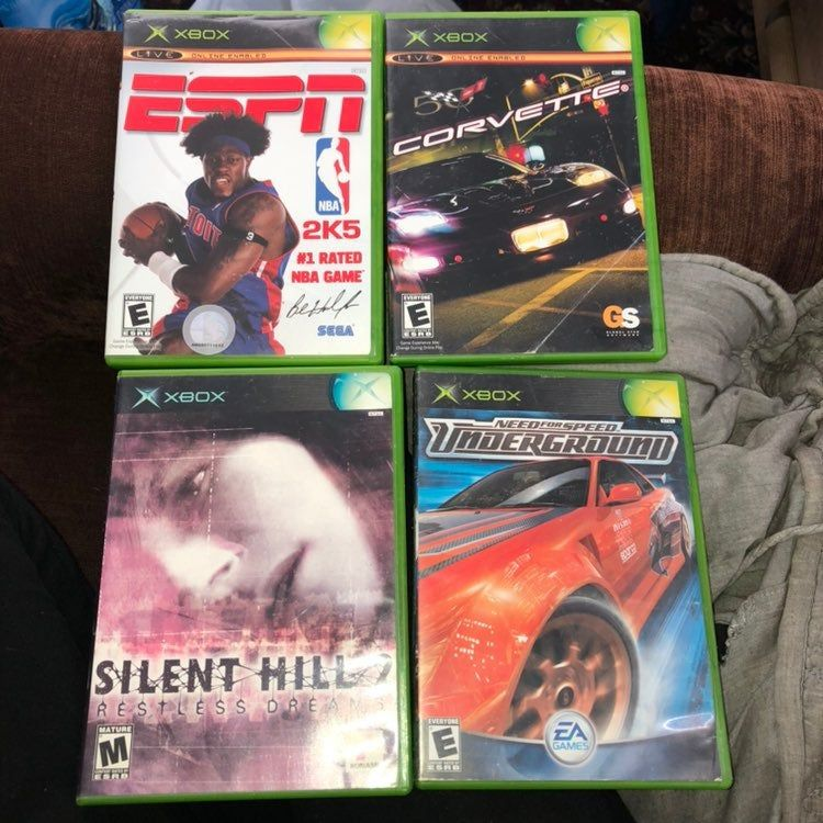 Console Original Xbox Games Silent Hill 2 Restless Dreams