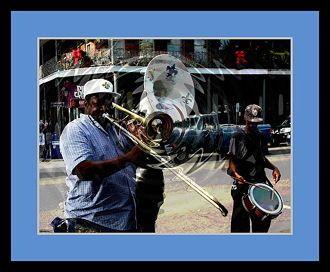 New Orleans Music Man por Les Mayers ~ x
