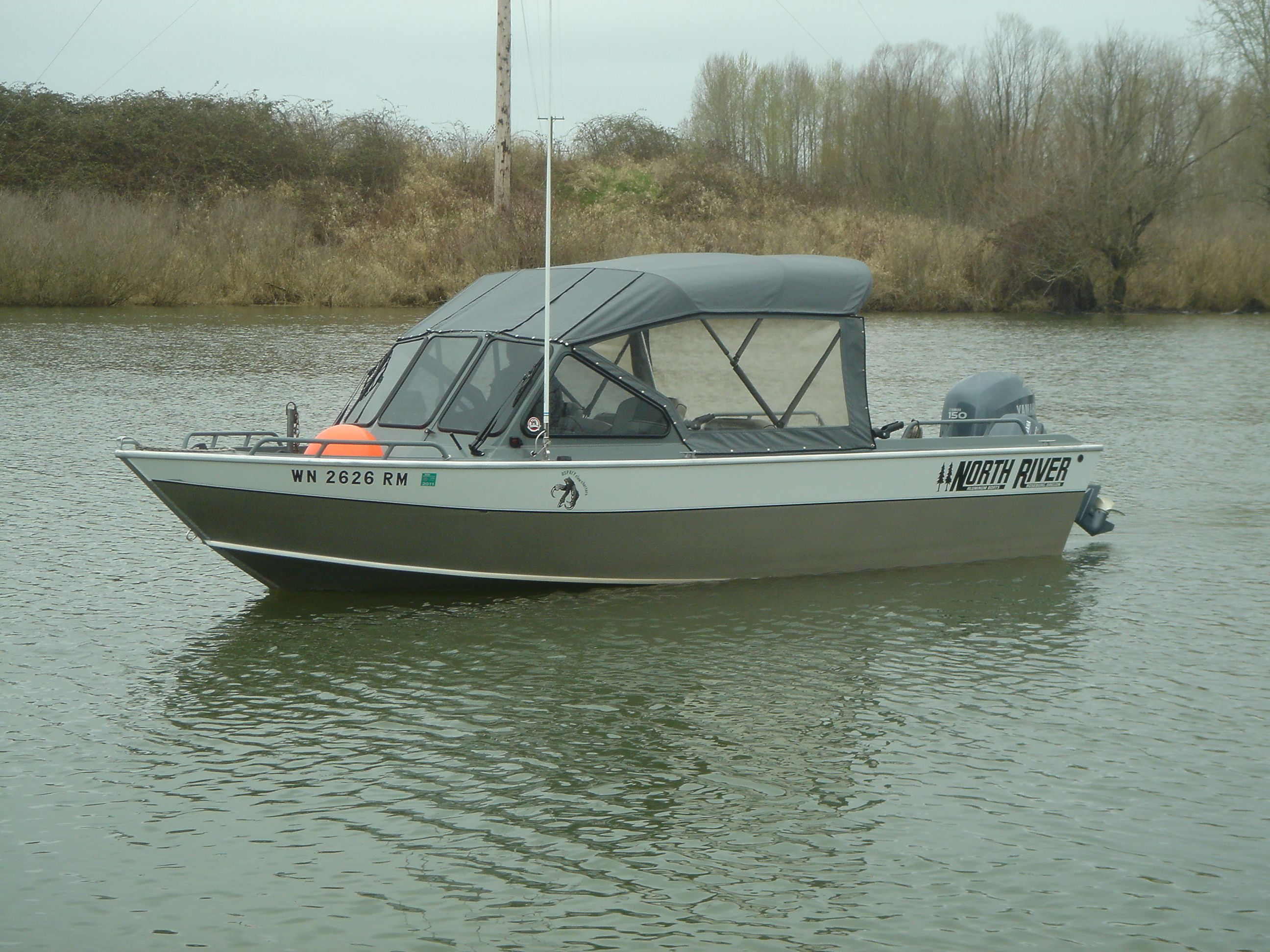 North river 20 39 seahawk osprey claw charters 39 awesome for Seahawk fishing boat