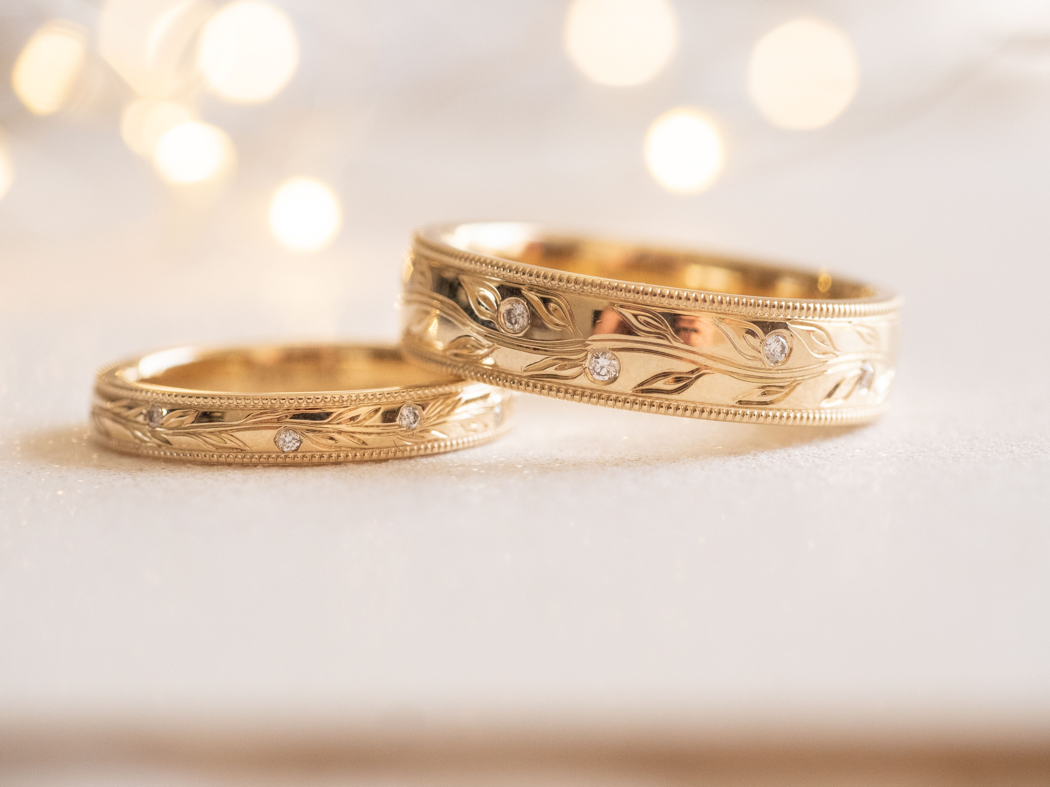 Matching Olive Branch Rings Branch Engagement Ring Dream Engagement Rings Wedding Rings For Women