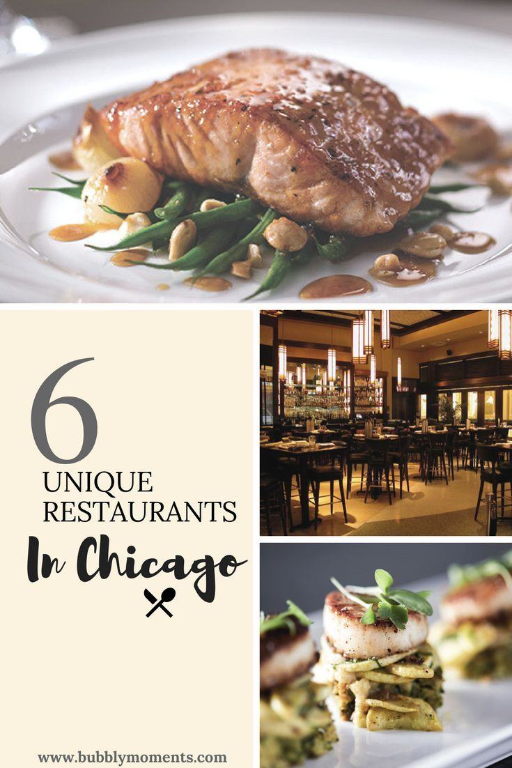 Unique Restaurants in Chicago Travel eating, Unique