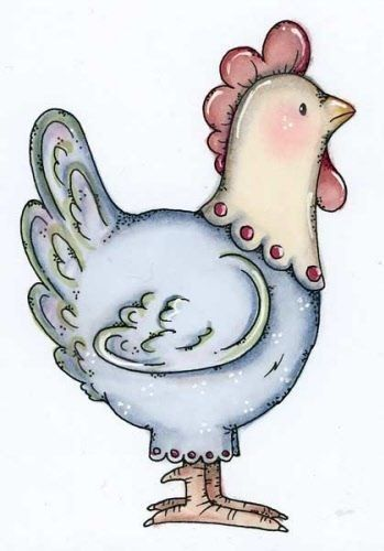 Galinha Linda Country Dibujos Arte De Pollo Y Como Dibujar Cosas