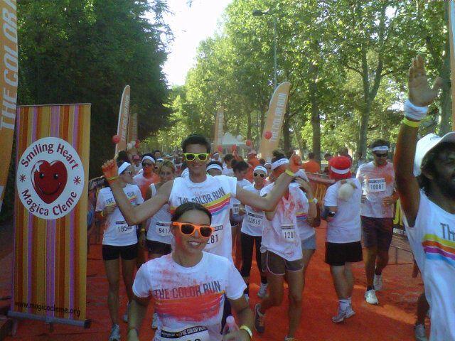 #TheColorRun Milano @The Color Run ™ Italia #Happiest5k