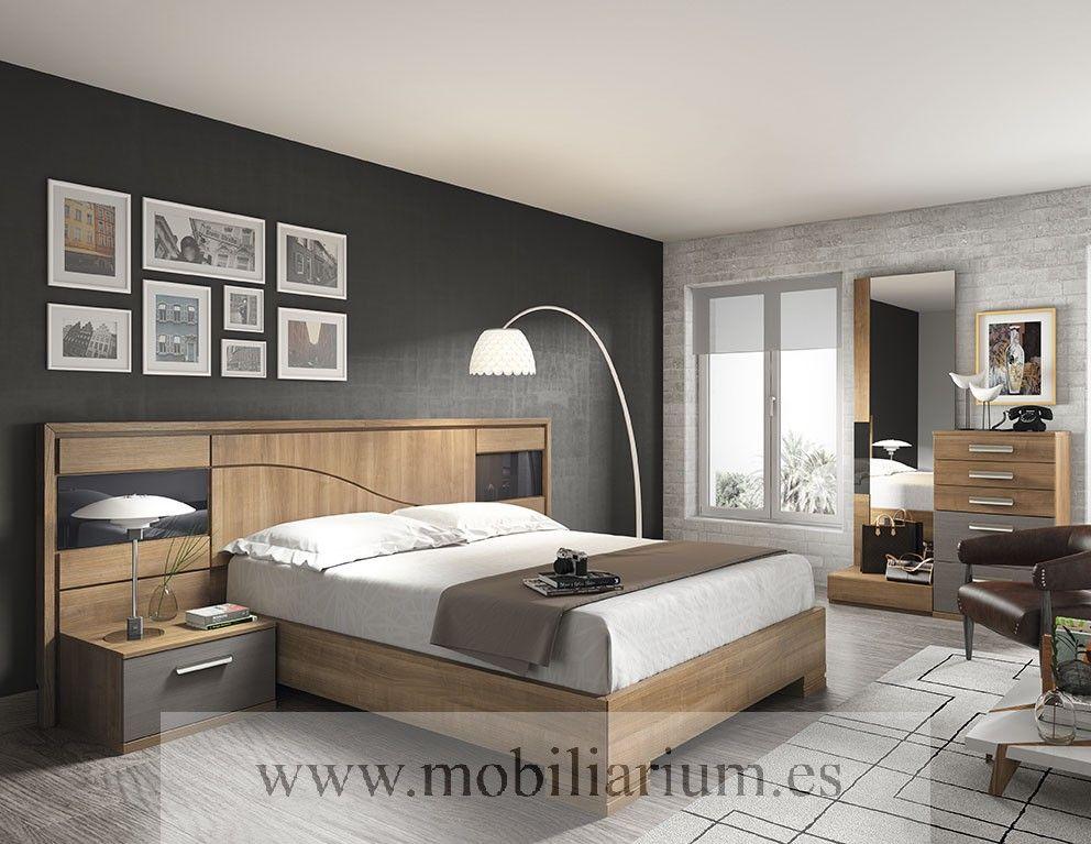 dormitorios modernos lanmobel composici n 14 cabecero