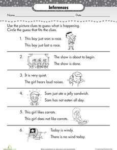 Making Inferences | Making inferences, Inference, 2nd grade ...