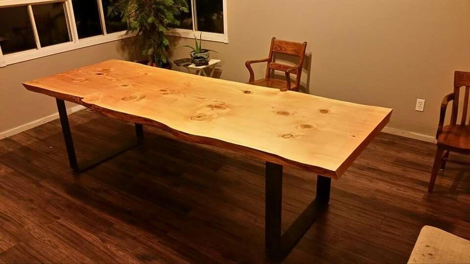Live Edge Douglas Fir Table Table Dining Table Countertops
