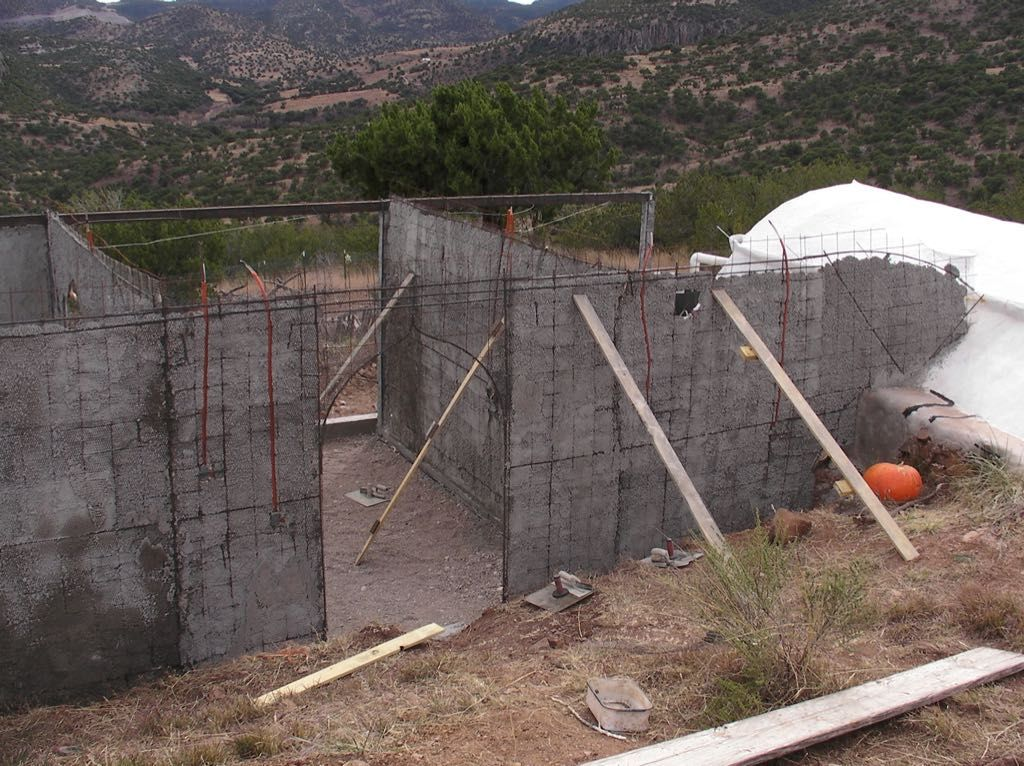 how to ferro cement walls cement walls cement concrete on construction of walls id=13805