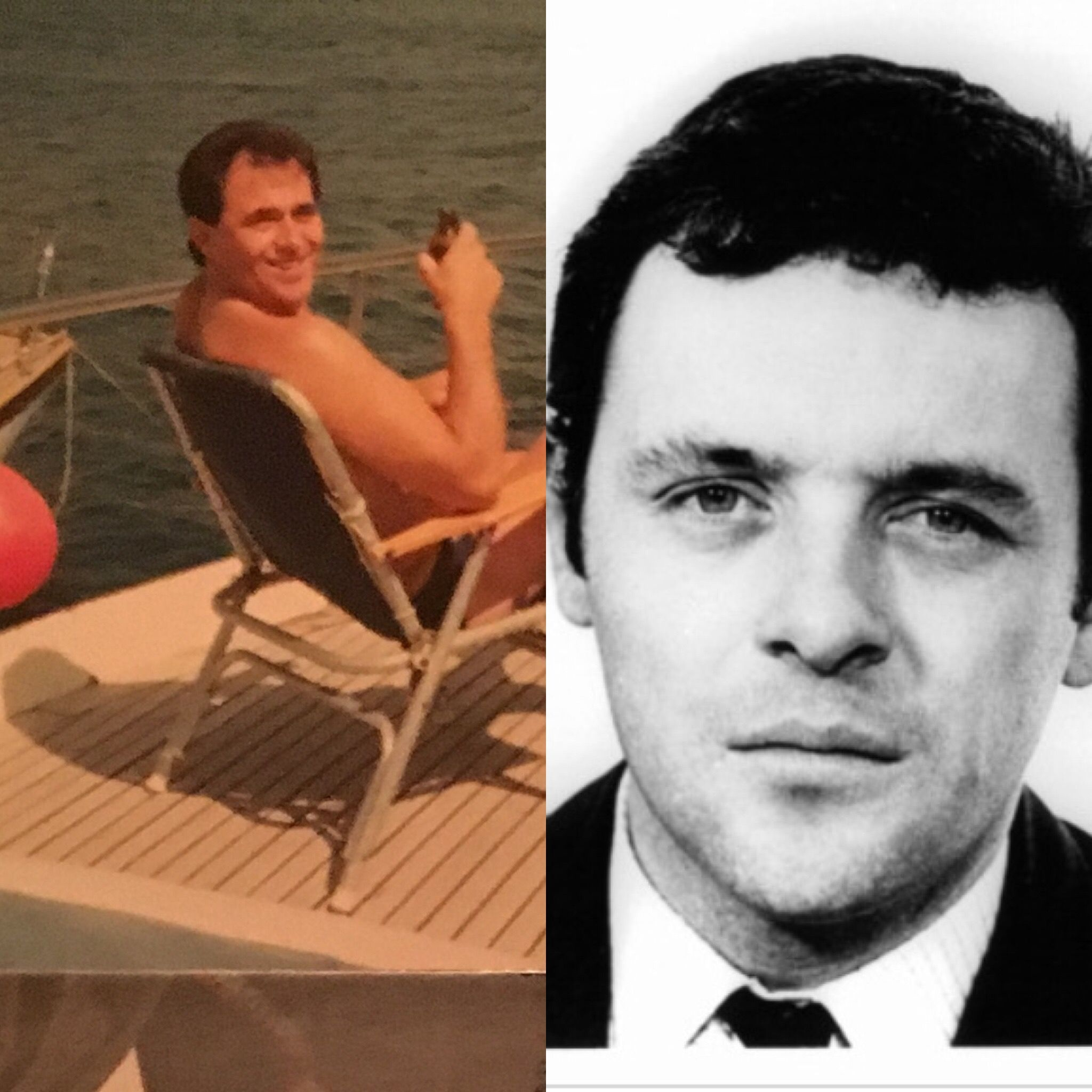 Yes Another Picture Of My Fiance On The Right With Young Anthony Hopkins On Left Anthony Hopkins Anthony Hopkins