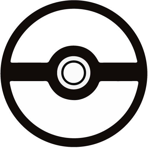 Pokemon Ball Stencil Is All Blank And Awkward Better Type