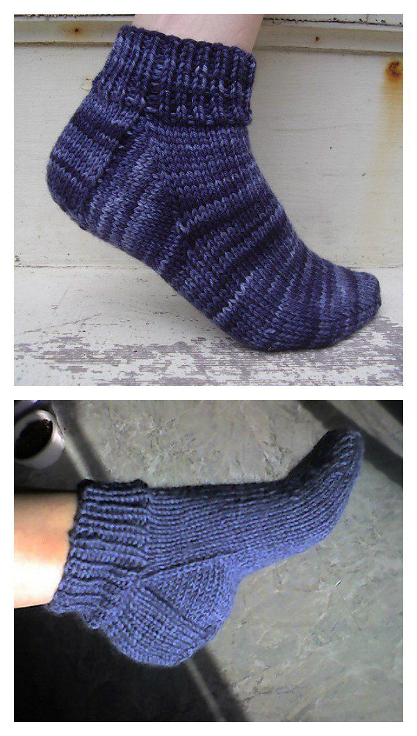 Free Knit Ankle Sock Patterns Crocheted Or Knitted Booties