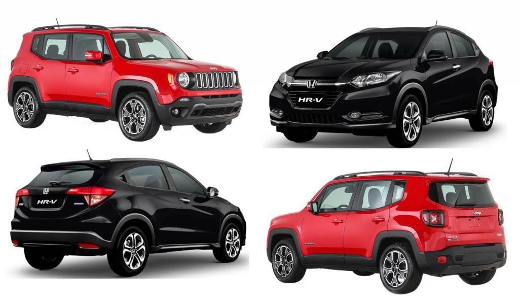 jeep renegade vs honda hrv specs comparison jeep renegade forum automotive news. Black Bedroom Furniture Sets. Home Design Ideas