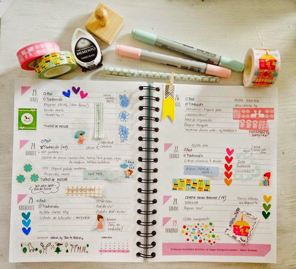 Agendas Bonitas Cerca Amb Google Agendas Diy Agendas Planner Bullet Journal