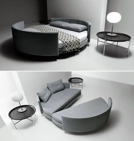 Pull Apart Couch Bed Creative Beds Bed Design Cool Beds